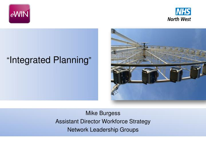 integrated planning n.