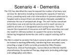 scenario 4 dementia