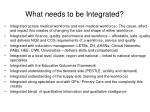 what needs to be integrated