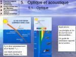 optique et acoustique 5 1 optique