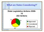 what are states considering