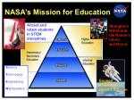 nasa s mission for education