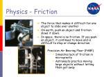 physics friction