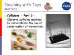 teaching with toys marbles