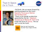 toys in space car track