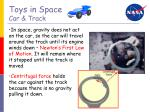 toys in space car track1
