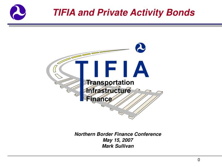 tifia and private activity bonds n.
