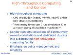 high throughput computing and condor