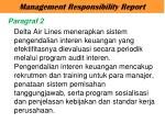 management responsibility report2