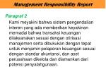 management responsibility report3