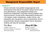 management responsibility report4