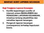 manfaat audit laporan keuangan