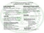 ciclo formativo de grado superior administraci n y finanzas