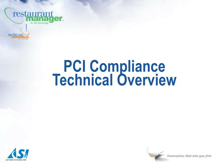 pci compliance technical overview n.