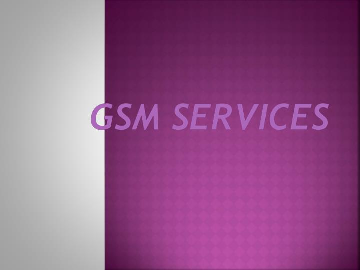 gsm services n.