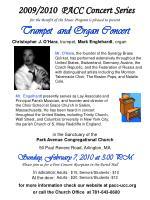 trumpet and organ concert