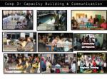 comp 3 capacity building communication