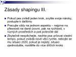 z sady shapingu iii