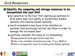 grid resources