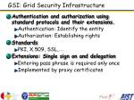 gsi grid security infrastructure