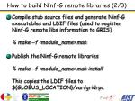 how to build ninf g remote libraries 2 3