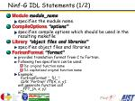 ninf g idl statements 1 2