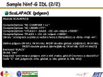 sample ninf g idl 2 2