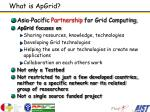 what is apgrid