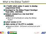 what is the globus toolkit
