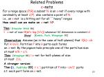 related problems nets