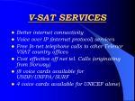 v sat services