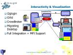 interactivity visualization
