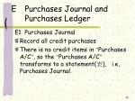 e purchases journal and purchases ledger