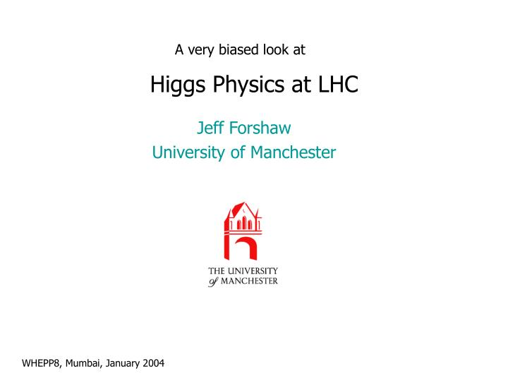higgs physics at lhc n.