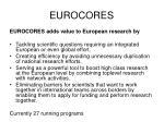 eurocores