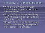 theology 3 contextualization