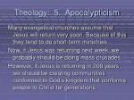 theology 5 apocalypticism