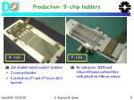 production 9 chip ladders