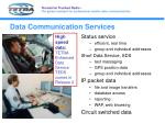 data communication services