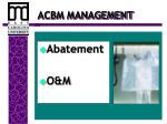 acbm management