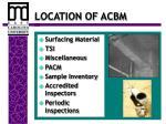 location of acbm