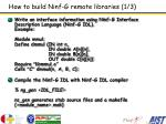 how to build ninf g remote libraries 1 3