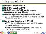 ninf g3 and ninf g4