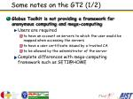 some notes on the gt2 1 2