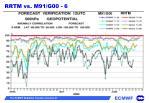rrtm vs m91 g00 6