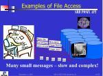 examples of file access srb posix api1