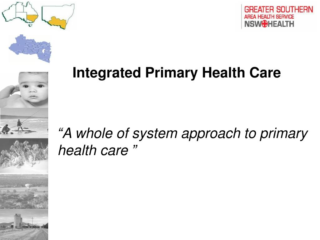 PPT - Integrated Primary Health Care PowerPoint ...
