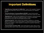important definitions1