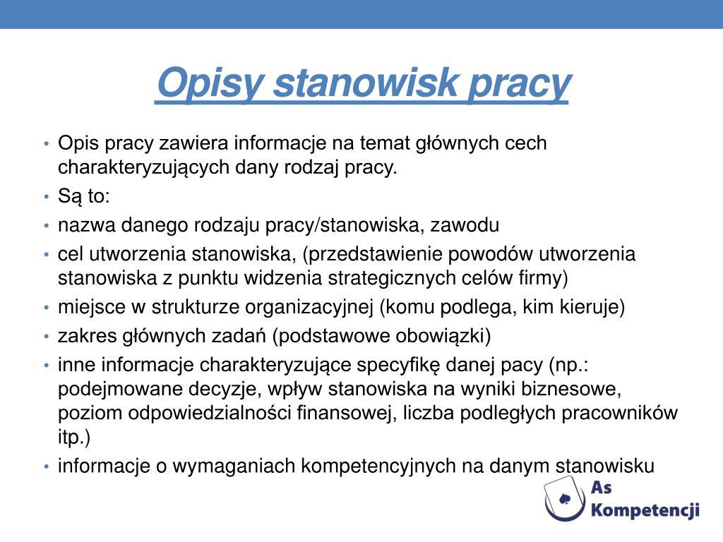 PPT - Dane INFORMACYJNE (do uzupełnienia) PowerPoint