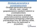 strategia personalna w przedsi biorstwie
